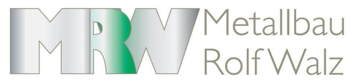 MRW - Metallbau Rolf Walz, 71229 Leonberg